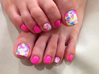 Decoración de uñas para los pies 2015-2016-2017