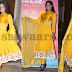 Yellow Anarkali Latest Salwar