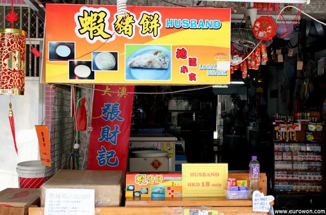 Husband (marido) a la venta en la aldea Tai O