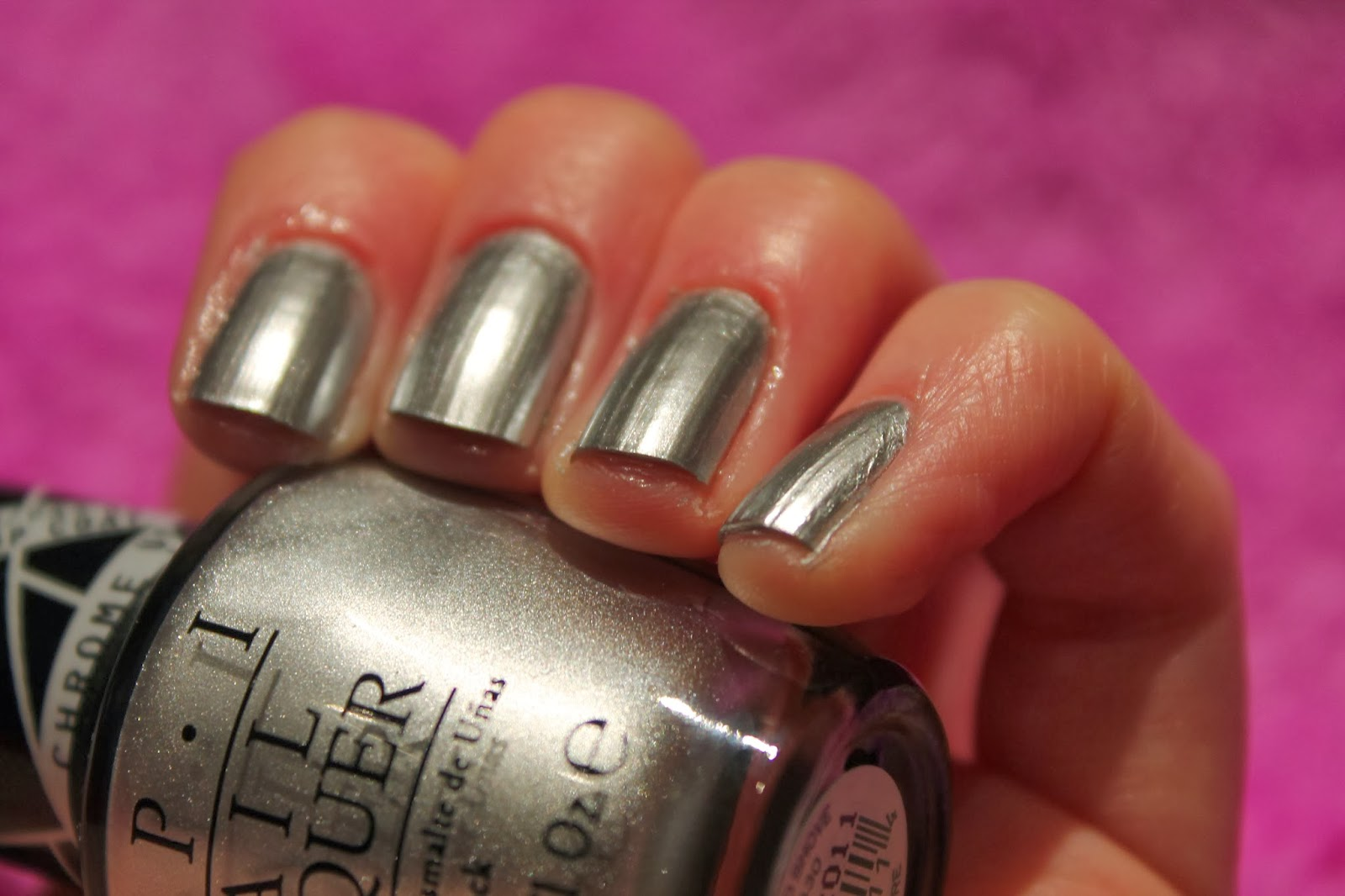 Gwen Stefani OPI Collection - Chrome Nail Polish Swatch