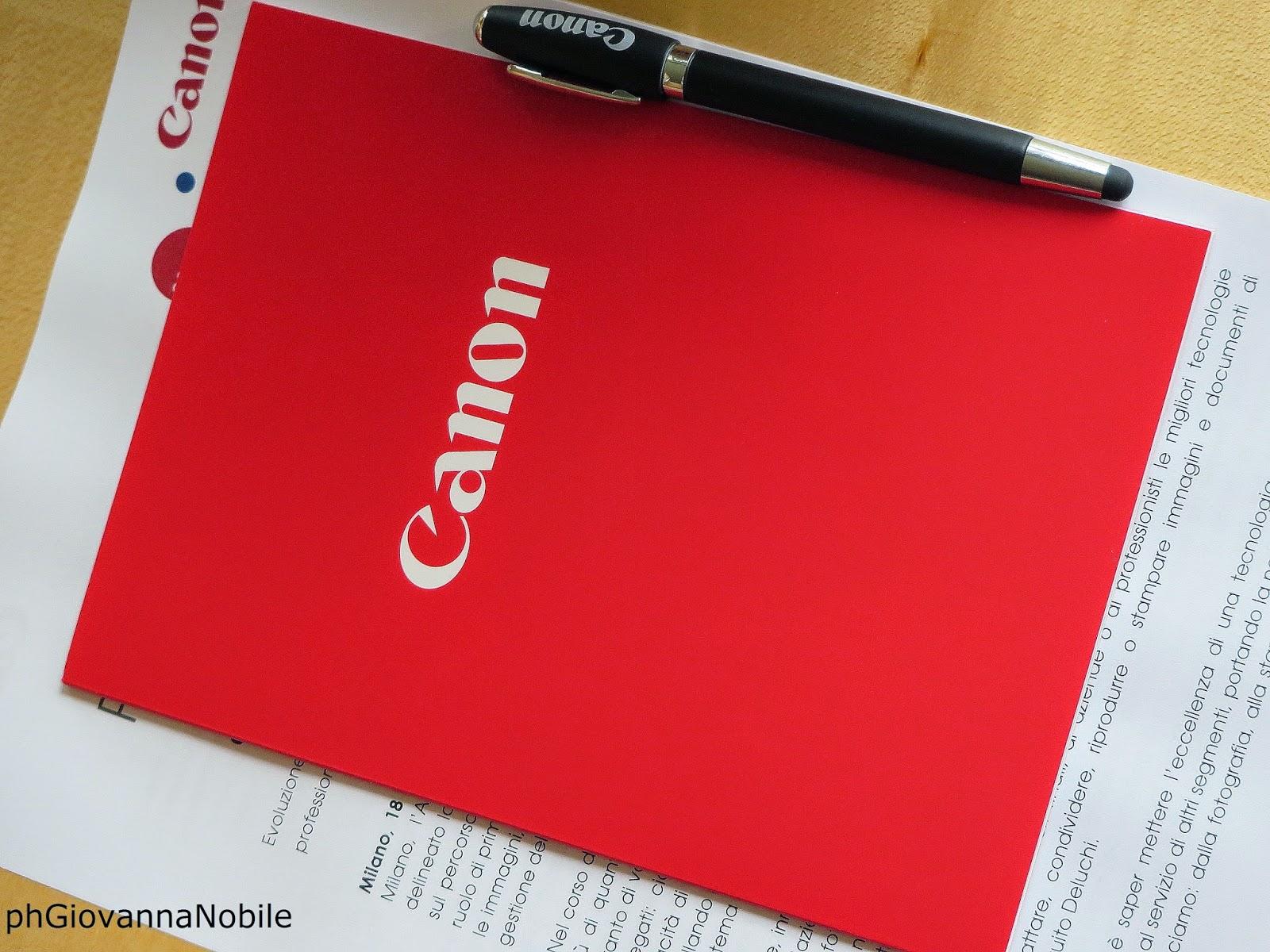 Canon 2014 - Conferenza Stampa