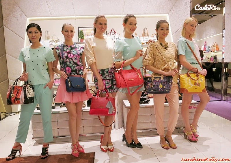 Carlo Rino Spring Breeze 2015 Collection, Fashion Show, Pavilion KL, Carlo Rino, Online Shopping, Stop Traffic, Fashion in Motion, Make Waves, Walk in Style, Stylish Timepiece, Bowling Bag with Embroidery, Bees Bag
