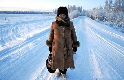Los lugares más fríos del Mundo: Verkhoyansk y Oymyakon (Siberia).