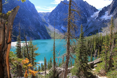 View of Colchuck Lake from the Northwest Shore