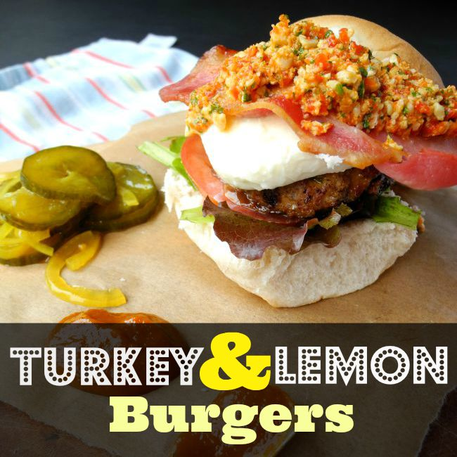 What Catey Made Next... | Turkey & Lemon Burgers