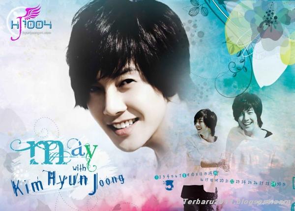 Foto Kim Hyun Joong Calendar 2012 Juni