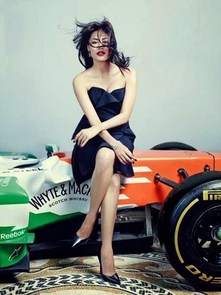 Chitrangda Singh's Hi! Blitz Photoshoot