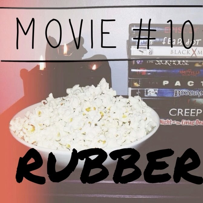 Inspire Magazine Online - UK Fashion, Beauty & Lifestyle blog | My B-list Horror Movies Challenge // Rubber; Inspire Magazine; Inspire Magazine Online; Horror Movie challenge; Rubber Review