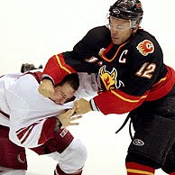 Iginla fight