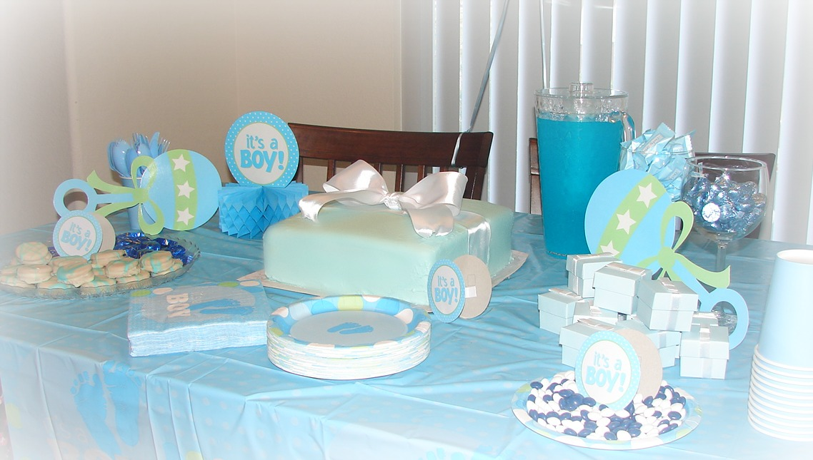 hosted a baby shower this weekend for a very close friend of mine