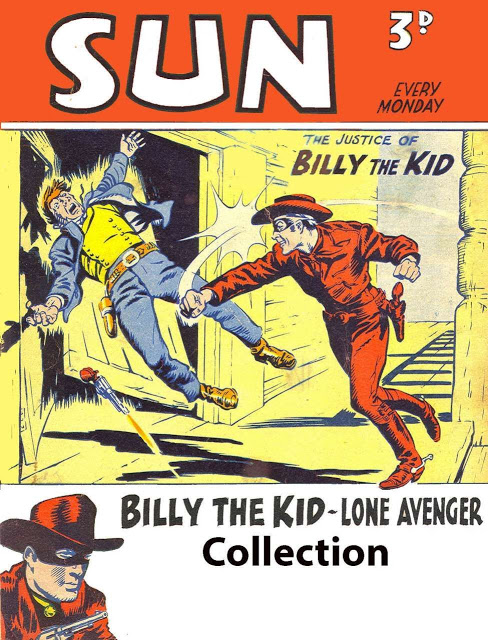 Billy the Kid (UK) SUN Collection - 4 volumes (Complete Series  )