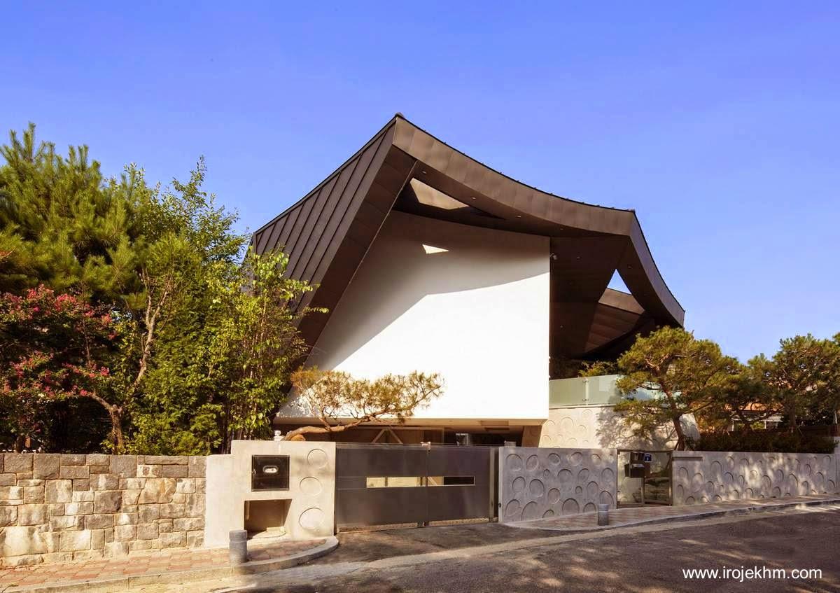 Arquitectura de casas casa moderna y tradicional for Casa moderna corea