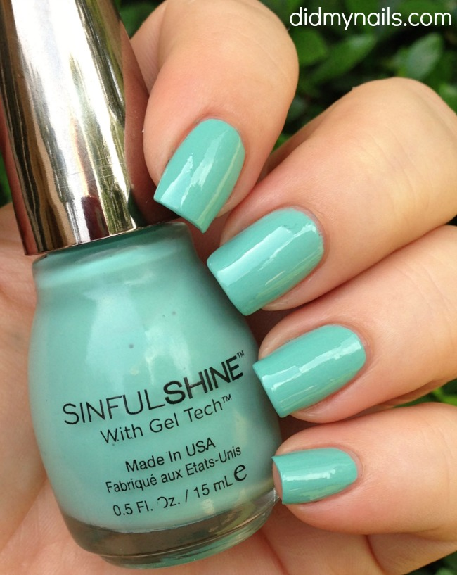 sinful colors rendezvous swatch