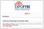 2019 Conferencia en EXPOBYBI