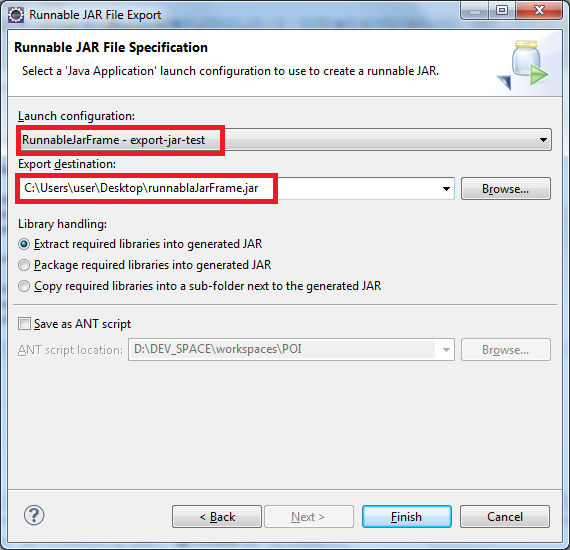 how to run a java executable jar