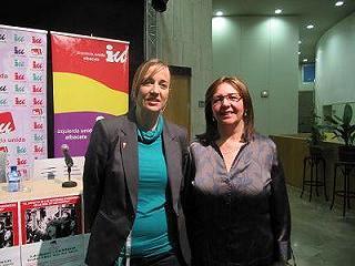 Acto del Área de la Mujer e Igualdad de IU Albacete