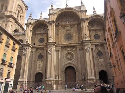 Catedral de la Anunciación de Granada, considerada la primera renacentista en España.