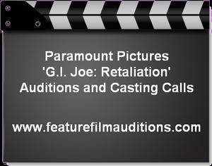 GI Joe Retaliation auditions