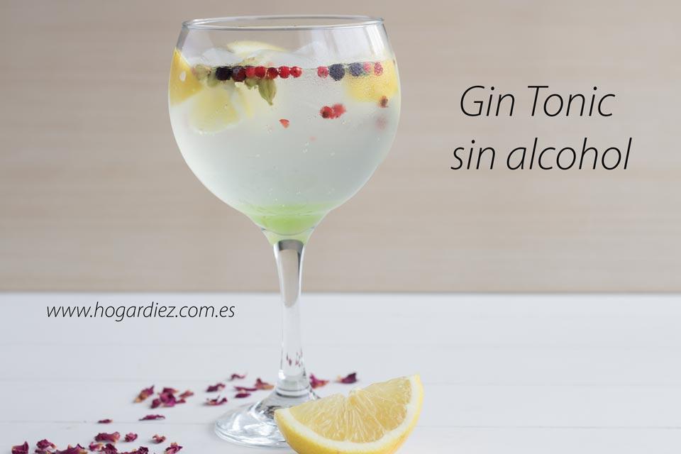 Vamos a ver cómo hacer este Gin tonic sin alcohol...