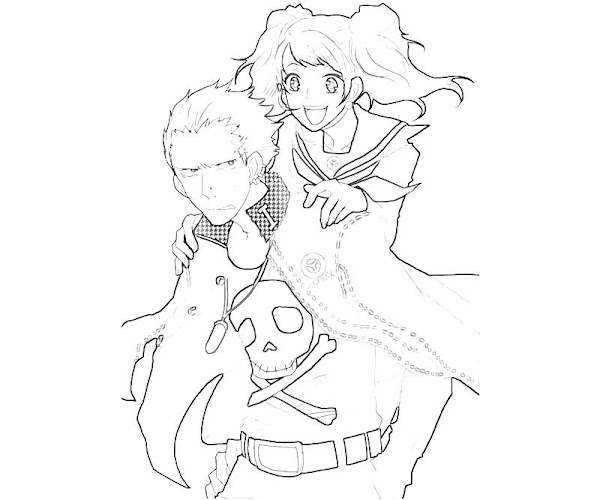 Cute Couple Coloring Pages