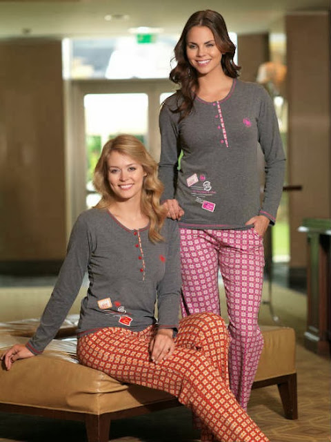 Yeni Moda Bayan Pijamalar