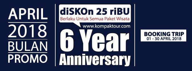 "GEBYAR PESTA DISKON ANNIVERSARY 6 TAHUN ""KOMPAK TOUR"""
