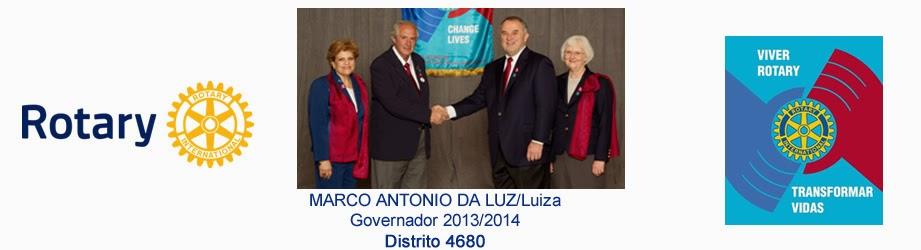 Marco da Luz - Governador Rotary Distrito 4680 2013-14