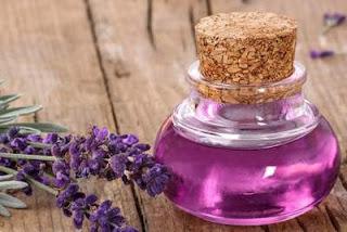 menghilangkan bau apek rambut dengan minyak lavender