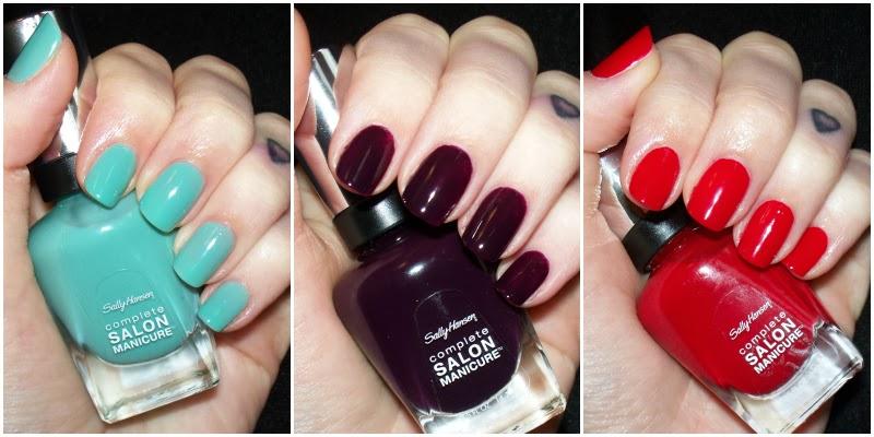 Lulu & Sweet Pea: Sally Hansen Complete Salon Manicure #CSMTKO