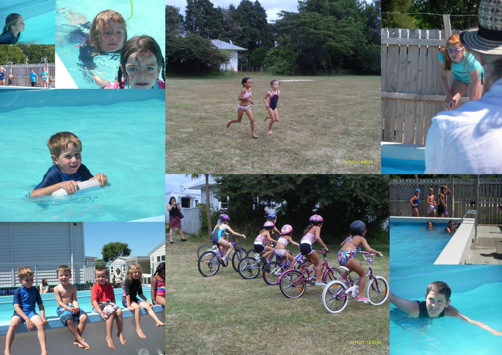 Image result for cycling swimming