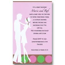 couples baby shower invitations wording couples baby shower