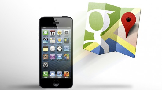 Google Launches Google Maps Application For iPhone ~ TechSoulz