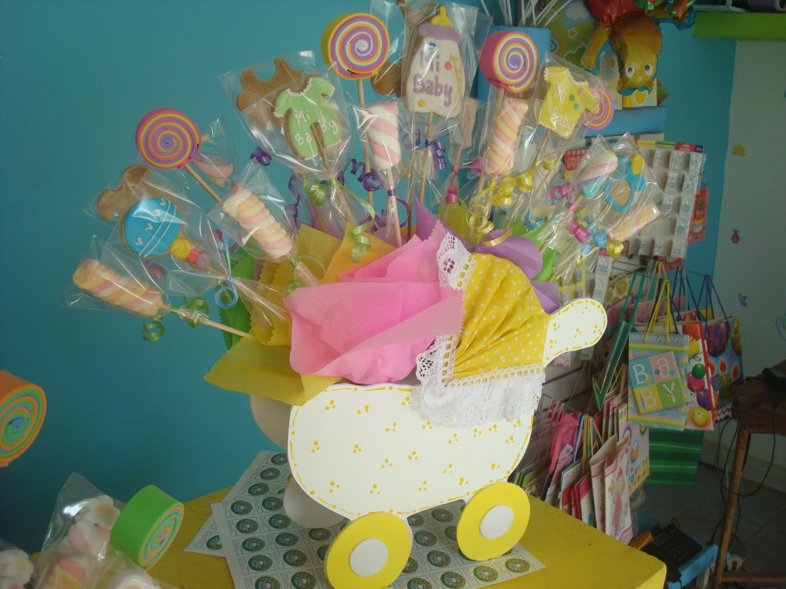 COOKIES FACTORY GALLETAS PARA BABY SHOWER