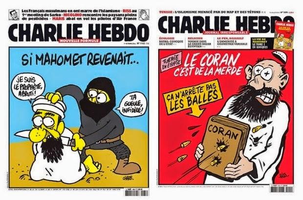 Rekam Jejak Majalah Charlie Hedbo Terhadap Islam