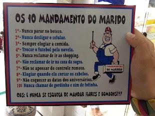 Os Dez Mandamentos do Marido