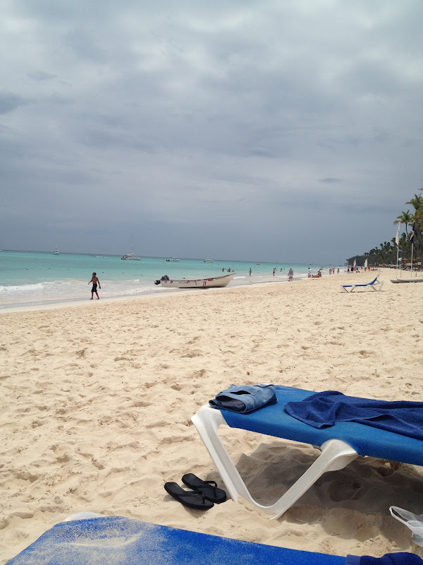 beach at dominican republic