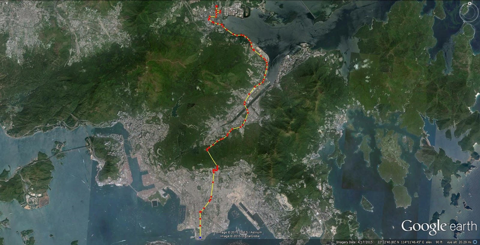 Hong kong macau stuff bus tours on the cheap 271 from tsim as you can see its a fairly lengthy route that covers a reasonable amount of the territory including kowloon shatin and finally tai po gumiabroncs Images