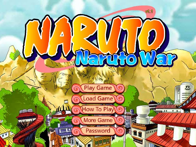 Game: Naruto War 1.1 Screenshot