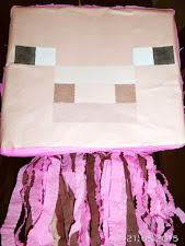 16. Piniata Minecraft Świnia
