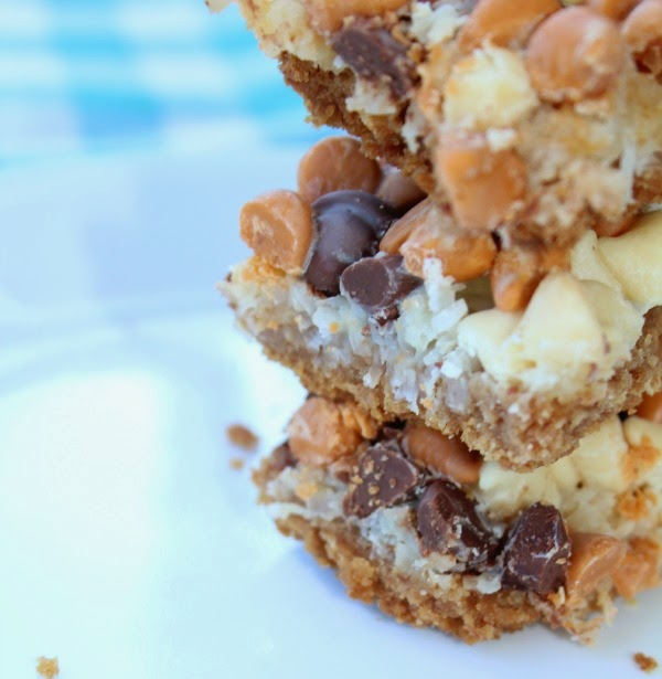 the easiest cookie bar EVER