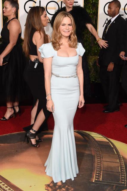 Jennifer Leight Roland Mouret Golden Globes 2016