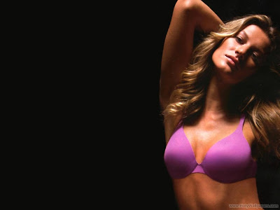 Gisele Bundchen American Model and Actress Beautiful Wallpaper-1600x1200