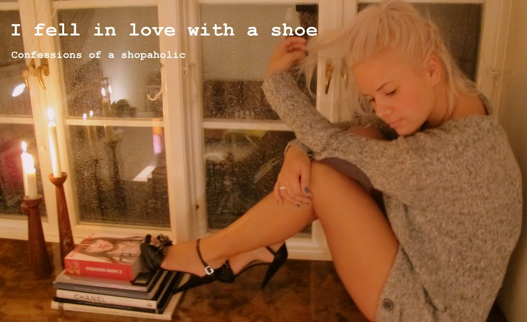 I fell in love with a shoe