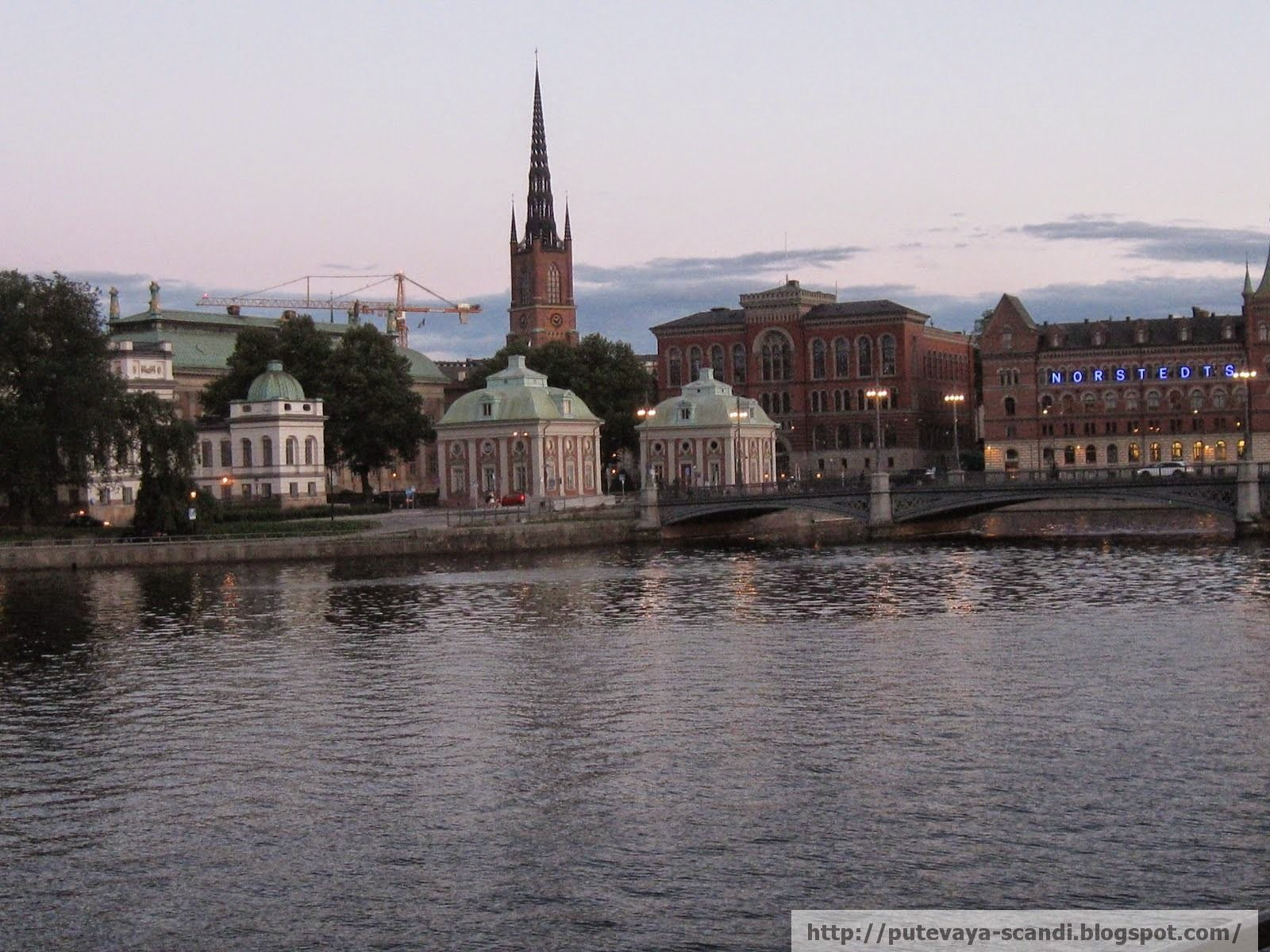 Stockholm soon falls asleep