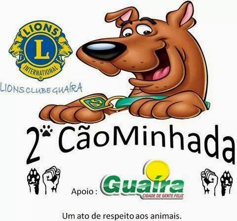 2ª CãoMinhada Guaira-SP