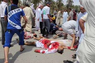 Dunia, Baghdad, 58, maut, serangan, bom, Masjid Baqouba
