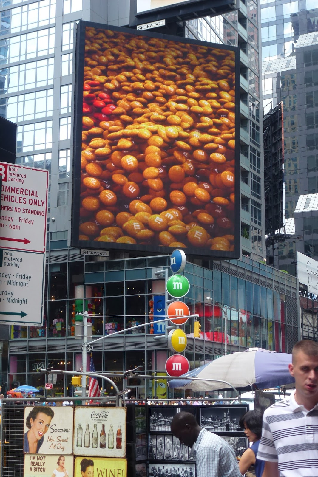 magasins time square