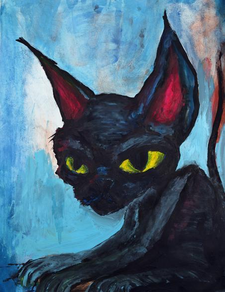 Sombras goticas: Pinturas de marilyn manson y dibujos de ...