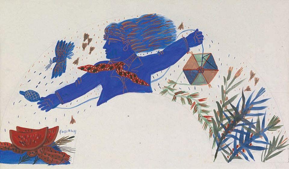 Ο χαρταετός στην Τέχνη.... Αλ. Φασιανός
