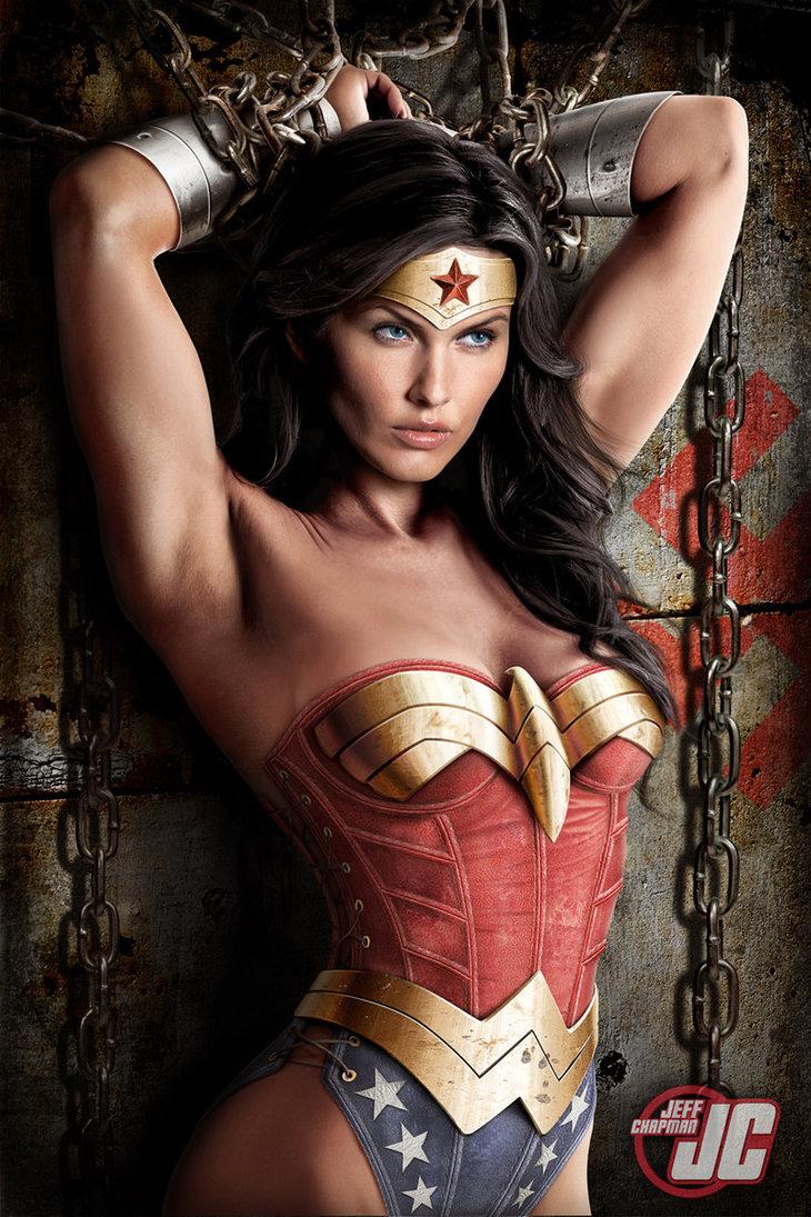 Wonder Woman in Chains (Melanie Chouinard)